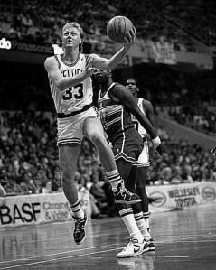 Larry Bird had the ability to slow things down and make instinctive decisions in the blink of an eye.