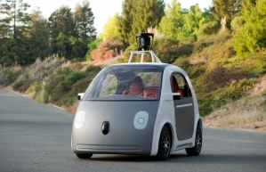 This is what Google's driverless car looks like. Would you hop in for a ride?